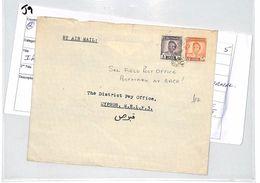 J9 1952 Iraq & Cyprus - F.P.O. Postmark On Reverse - Irak