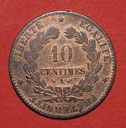 Pièce De Monnaies France - 10 Centimes Cérès - 1882 A - France