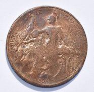 Pièce De Monnaies France -  10  Centimes Daniel Dupuis - 1898 - France