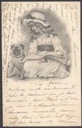 Fillette & Chien - Av. 1903 - Voir 2 Scans - Illustrateurs & Photographes