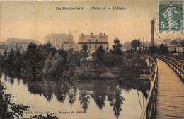25-MONTBELIARD- L'ALLAN ET LE CHATEAU - Montbéliard