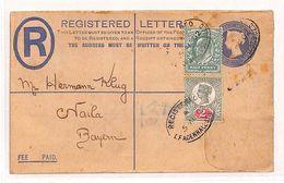 BB149 1902 GB London Bayern Germany Cover Postal Stationery PTS - Cartas