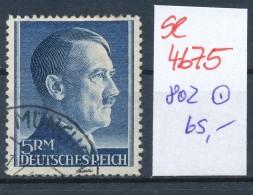 D.-Reich Nr. 802    O  (se4675 ) Siehe Bild ! - Gebraucht