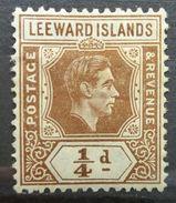 LEEWARD ISLANDS 1938 MH KING GEORGE VI - Leeward  Islands