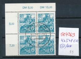 DDR 4x 378 OR -o Mit Gummi !keine Billigen Nachdrucke !! (se4363 ) Siehe Bild ! - DDR