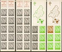 BELGIQUE - COB - Carnets B3**-B4**-B6**- B7** - Cote 23,50 € - Carnets 1953-....
