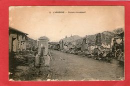 L'Argonne - Ruines D'AVOCOURT - - Saint Mihiel