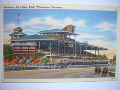 CPA USA - Etats-Unis D'Amérique - Delaware - Wilmington - Park Race Track - Colorisée - Hippodrome Courses De Chevaux - Wilmington