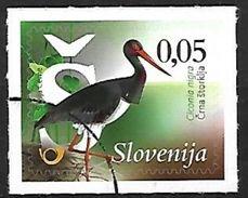 Slovenia 2015 MNH Specimen - Black Stork (Ciconia Nigra) F24 - Ooievaars