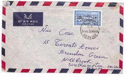 GG171 1963 Cyprus Southampton GB Cover {samwells-covers} - Sin Clasificación