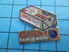 Pin611c Pin's Pins : Rare Et Belle Qualité ALIMENTATION / BEURRE DE NORMANDIE ISIGNY SAINTE-MERE - Alimentation