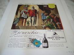 ANCIENNE PUBLICITE COGNAC REMY MARTIN 1946 - Alcohols