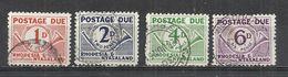 RHODESIA AND NYASALAND 1961 - POSTAGE DUE - CPL. SET - OBLITERE USED GESTEMPELT USADO - RARE!! - Rhodesia & Nyasaland (1954-1963)