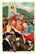 CPSM Homualk Pays Basque La Danse Du Verre - Homualk