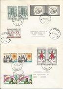 1966 - TRES BEAU LOT De 11 Lettres Avec Oblitérations Cachets à étoiles - Poststempel