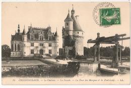 Facteur Boitier FRANCUEIL Indre Et Loire. 1912. - 1877-1920: Semi-moderne Periode