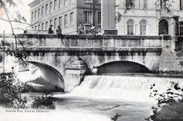 FLEURY-SUR-ANDELLE - Grande Rue, Pont Et Déversoir - Other Municipalities