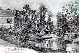FLEURY-SUR-ANDELLE (Eure) - Vue De L'Andelle à L'usine De St- Victor - Other Municipalities