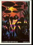 "Postcard, France, Painting ""Les Naiades Au Crepuscule"", Painter Herve Di Rosa, 1992, Unused - Pittura & Quadri"