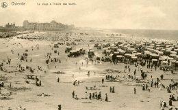 BELGIUM - Ostende - La Plage A L'heure Des Bains - Oostende