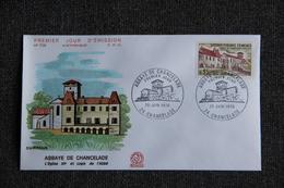 FDC  - 1er Jour D'Emission , N° 726 : Abbaye De CHANCELADE - FDC
