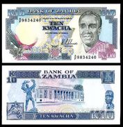 Zambia - 10 Kwacha 1989 - 91 UNC - Zambia