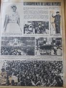 1948  Le Couronnement De La Muse Du Peuple LILLE     Gustave Charpentier - Vecchi Documenti
