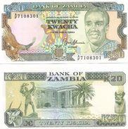 Zambia - 20 Kwacha 1989 - 91 UNC - Zambie
