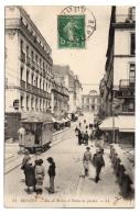 CPA 35 - RENNES (Ille Et Vilaine) - 54. Rue De Berlin Et Palais De Justice - LL (animée, Tram) - Rennes