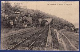 44 LE CELLIER Tunnel De La Saulzais ; Linge En Train De Sécher, Voies Ferrées - Animée - Le Cellier