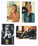 ° FRANKRIJK   4 TELECARTES  STARS De CINEMA  1995 - 1996 - France