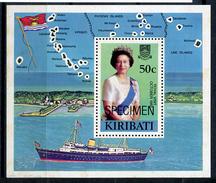 1982 - KIRIBATI - Catg. Mi.  415 SPECIMEN - NH - (R-SI.331.713 -  52) - Kiribati (1979-...)