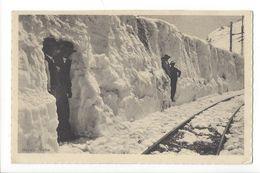 17470 - Berninabahn Hommes Dans Mur De Neige - GR Grisons