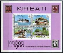 1980 - KIRIBATI - Catg. Mi.  Block 7 - NH - (R-SI.331.713 -  52) - Kiribati (1979-...)
