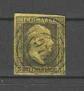 Preussen. König Friedrich Wilhelm IV., Nr. 4 Stempel 973 - Preussen (Prussia)