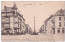 MIDDELKERKE, AVENUE DE LA REINE, Verstuurd Met Zegel - Middelkerke