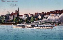 Basel, Bateau à Vapeur (503) - BS Bâle-Ville