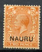1916 - NAURU - Catg. Mi. 4a - LH - (R-SI.331.713 -  53) - Nauru