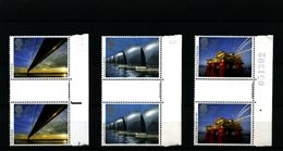 GREAT BRITAIN - 1983  EUROPA  GUTTER PAIRS  UNFOLDED SET  MINT NH - Nuovi