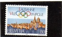 1984 Svizzera -  Losanna Sede Del C.I.O. - Switzerland