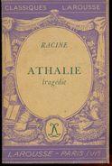 ATHALIE  De RACINE. - Théâtre
