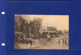 ##(003)POSTCARDS - Lahej- Aden-Yemen -1929 -  The Market Place, Animated Postcard,Aden Cancel On India Stamps-rare - Yemen