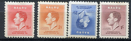 1924 - NAURU - Catg. Mi. 33/36 - 35LH - NH - (R-SI.331.713 -  53) - Nauru