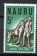 1965 - NAURU - Catg. Mi. 51 - NH - (R-SI.331.713 -  53) - Nauru