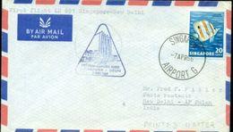 Erste Flüge-Primi Voli-First Flights--marcofilia-primeros Vuelos-SINGAPORE-DELHI - Singapore (1959-...)