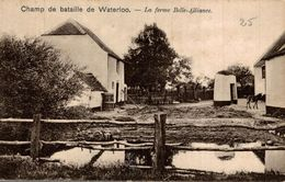 CHAMP DE BATAILLE DE WATERLOO LA FERME BELLE ALLIANCE - Waterloo