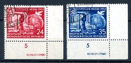 DDR MiNr. 315-16 DV Gestempelt (DD316 - Abarten