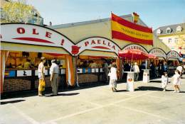 COMMERCE Foire - ESPANA Espagne : Spanicher Kulturverein ( Paella Sangria ) Foto Postkarte à Identifier Format CPM - Fiere