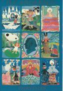 Sticker Card.  Fairytales.  H.C. Andersen. Denmark  H-797 - Fairy Tales, Popular Stories & Legends