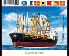 SLOVENIA, 2017, MNH, SHIPS, MARIBOR, S/SHEET - Barche